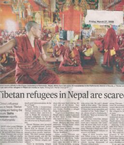 Tibetan refugees in Nepal are scared